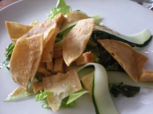 Horseradish Caesar Salad (SS's 1st plate)