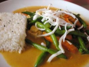 Panang with Tofu